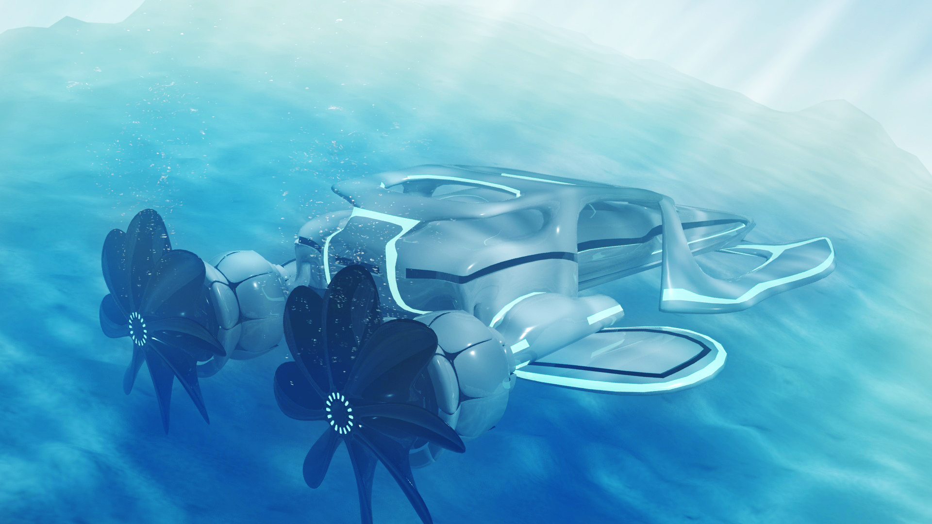 Vaisseau sous marin