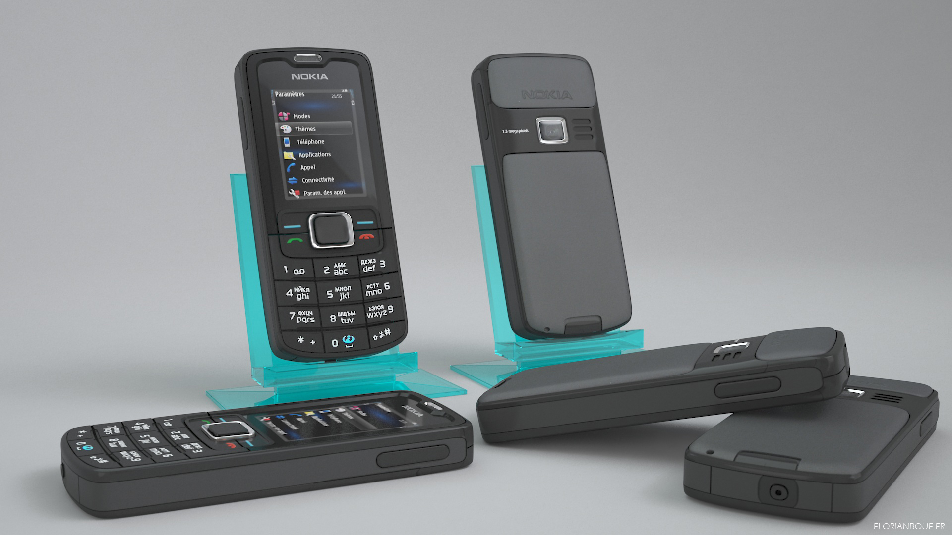Rendu telephone portable