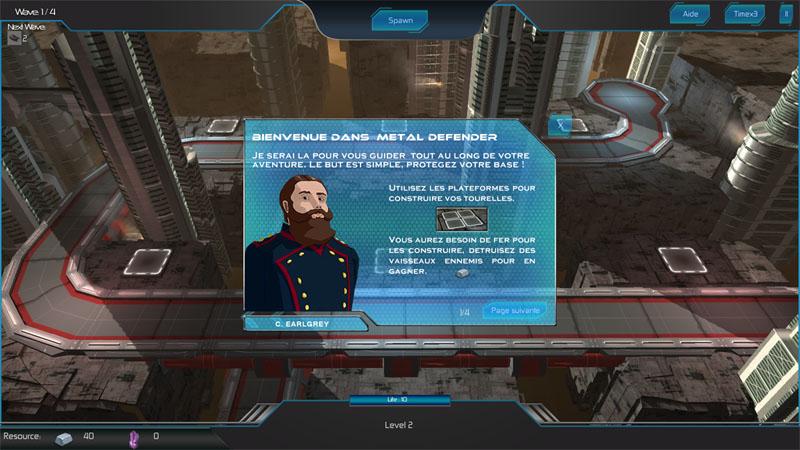 Metal Defender Screen