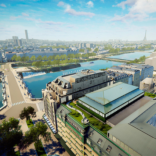 Unity – Paris – La Samaritaine
