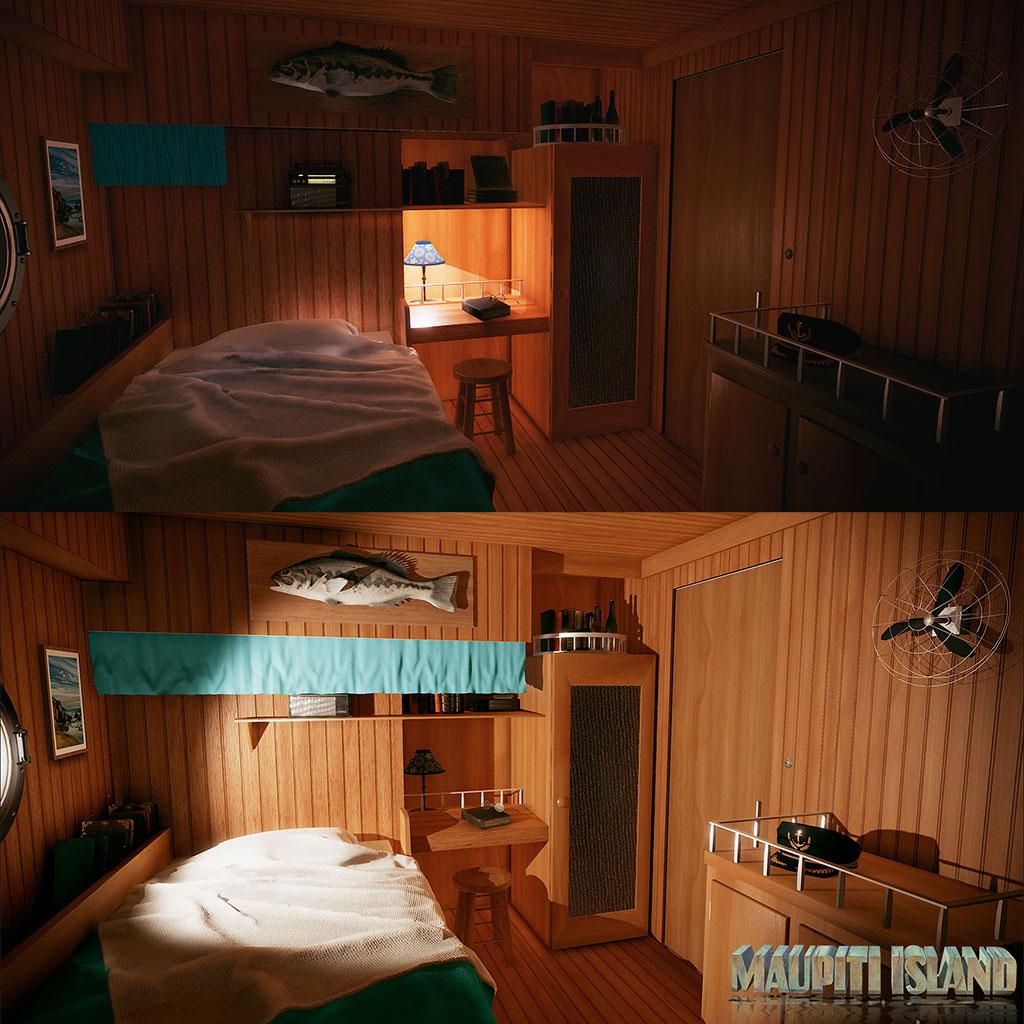 Unity VR – Maupiti Island – Cabine