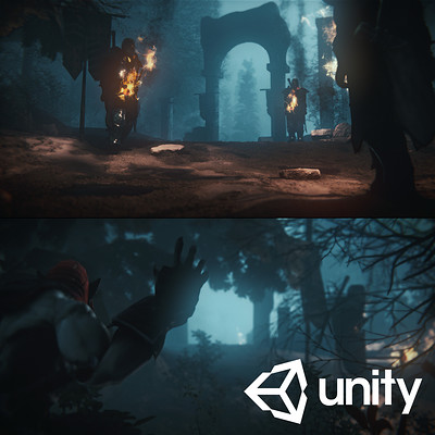 Unity – Mountain Trap